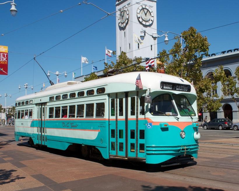 F Train San Francisco Embarcadero